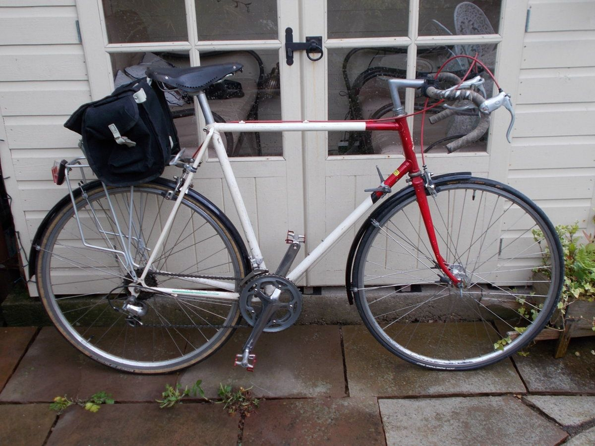 Large Saddle Bags for Day Tours or Audax: Carradice v