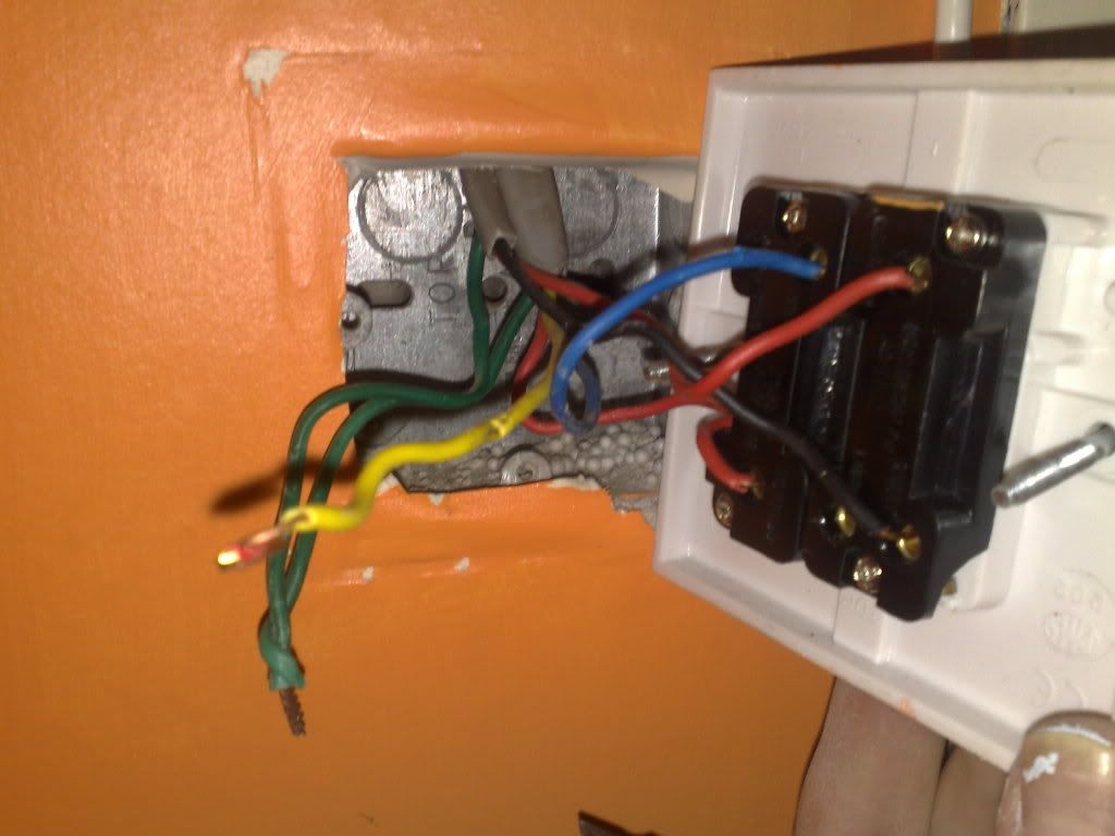 Mk Light Switch Wiring Diagram Electrical For 3 Gang 2 Way A Double Dimmer Uk Solutions Rh Rausco Com