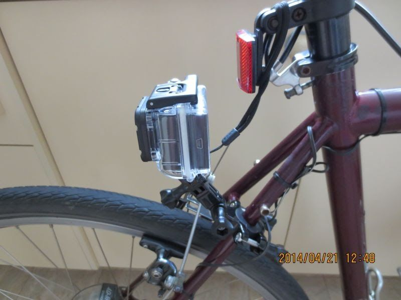 Suggestions on rear-mounting a GoPro camera? | CycleChat Cycling Forum