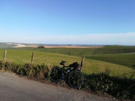 20190410 Worthing ride (41) South Downs Steyning-Sompting road.jpg