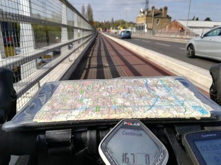 20190410 Worthing ride (5) Lea Bridge cycle paths.jpg