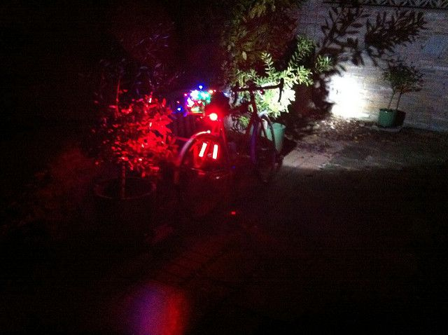 Lit Up Like A Christmas Tree.Lit Up Like A Christmas Tree Cyclechat Cycling Forum