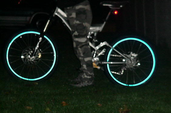 Reflective Wheel Rim Stickers Cyclechat Cycling Forum