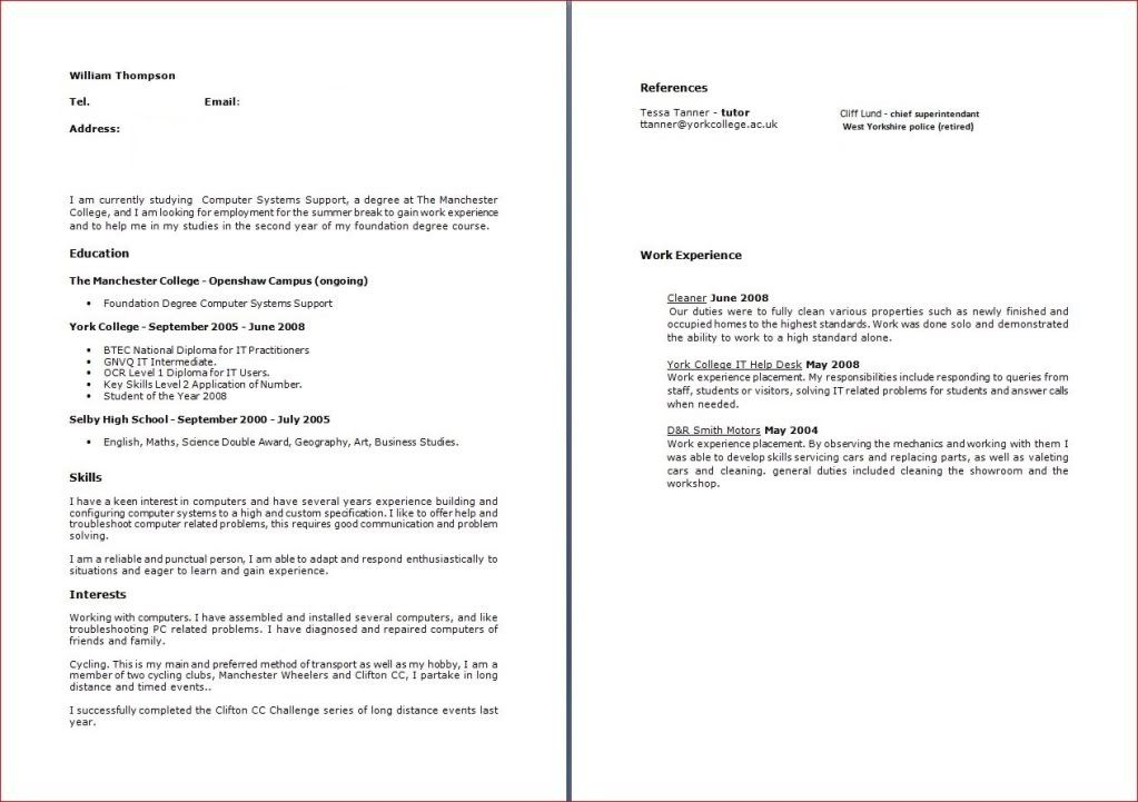Cover Letter For Cv. Cv Cover Letter Cv And Resume Writing Service ...