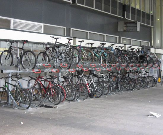 Euston Train Station Cycle Storage Cyclechat Cycling Forum