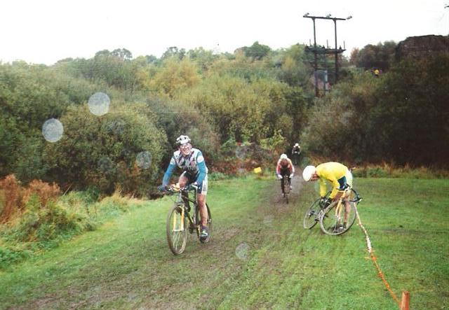 Cycling. 1990s. Cyclo-Cross. 1992. Barnsley Road Club..jpg