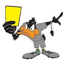 Daffy Yellow Card.jpg