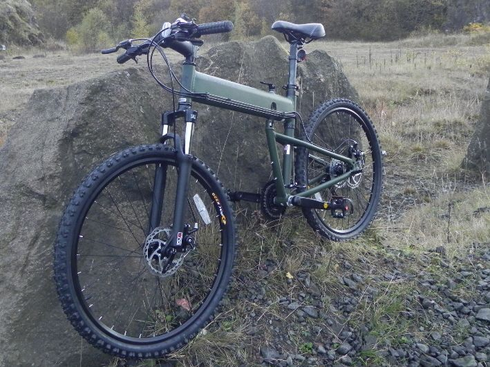 Montague Paratrooper Folding Mountain Bike Review
