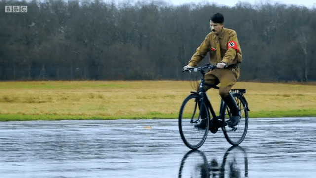 Image result for hitler on a bike