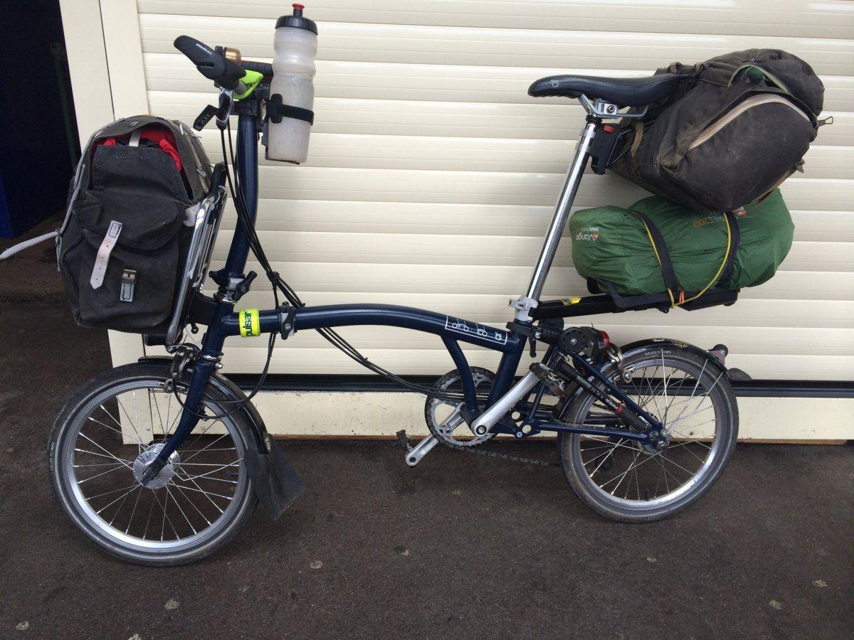 Brompton Rear Rack Luggage Options Bike Forums