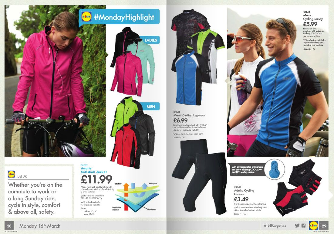Lidl's cycling gear | CycleChat Cycling Forum