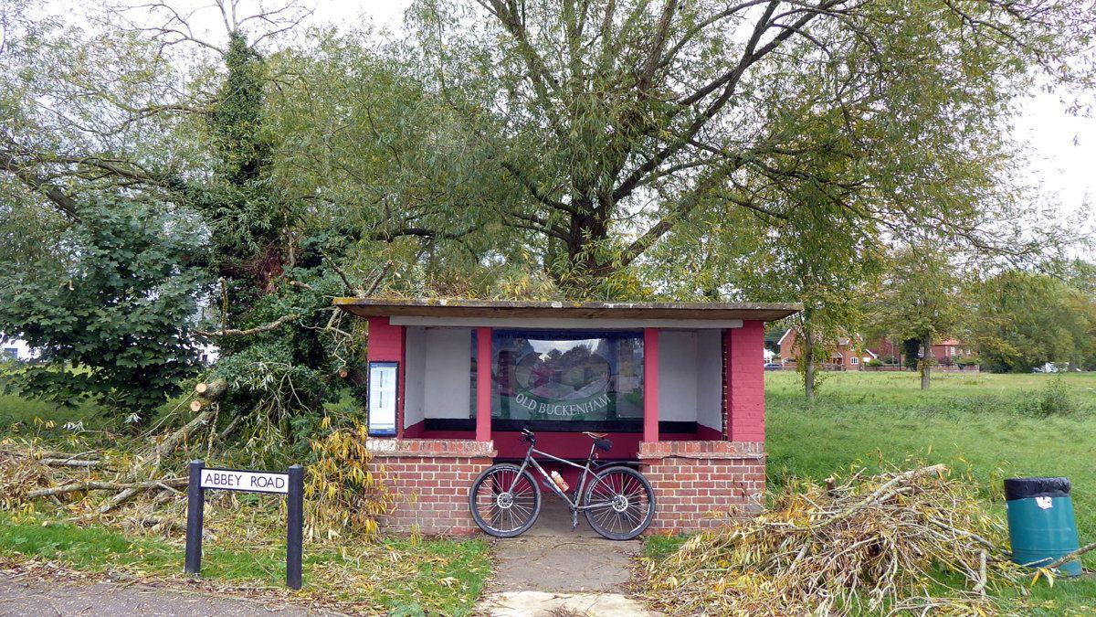 Old Buckenham shelter.JPG