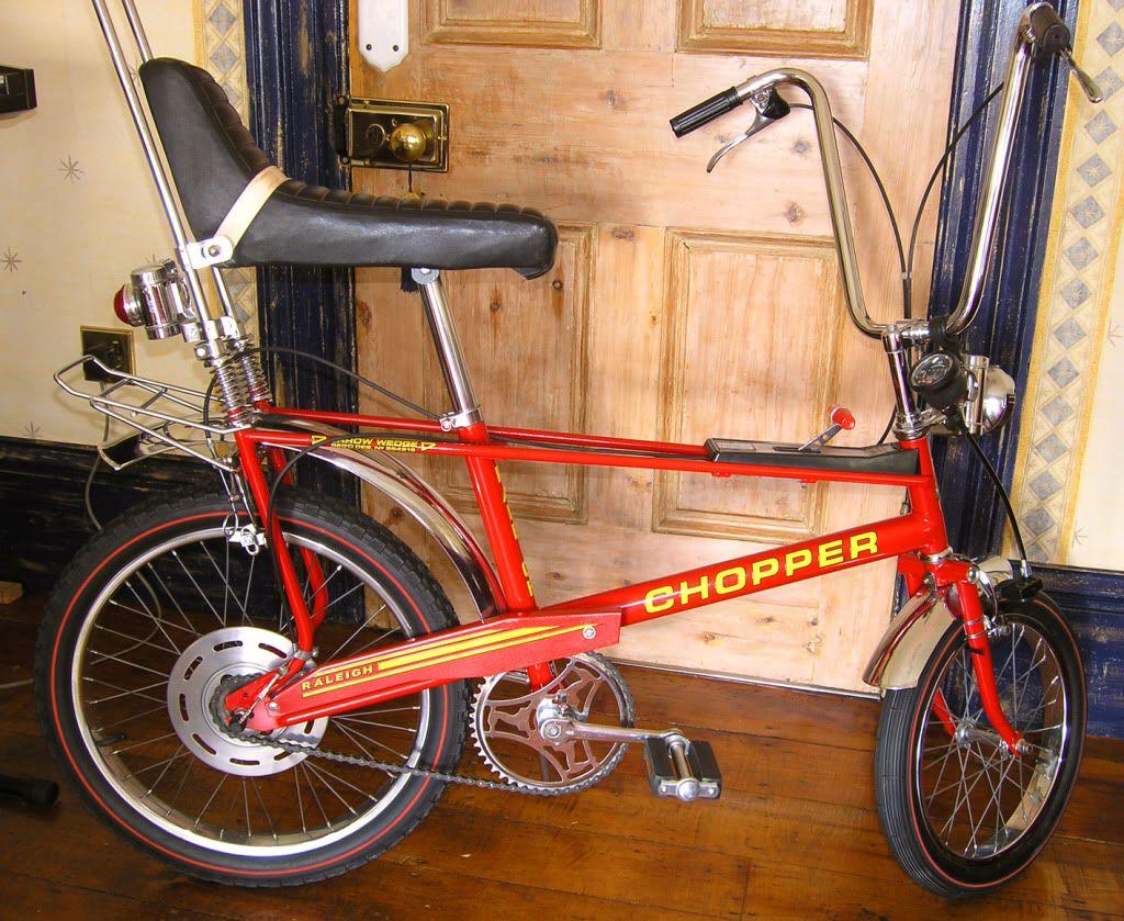 Raleigh chopper dating