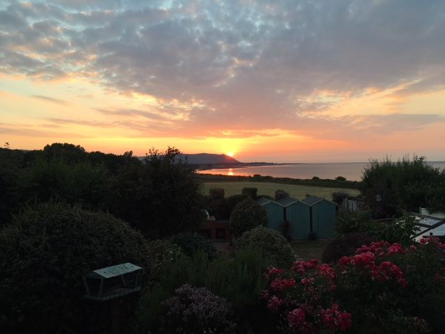 Sunset 12th July 2018.JPG