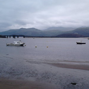 Mawddach Estuary and Barmouth Bridge