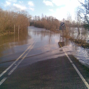 Welney flood
