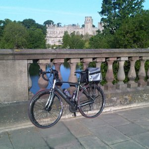 Bike and Warwick Castle.jpg