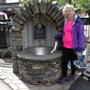 Wishing well at Ambleside