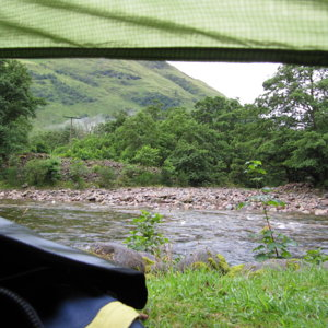 Glencoe - view from my tent