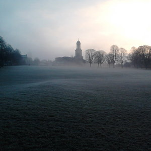 St. Chads in the mist