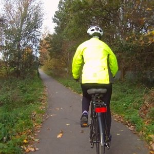 Cycle track to Fellgate Metro