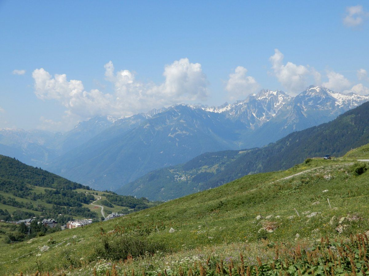View south from near Col de la Madeleine